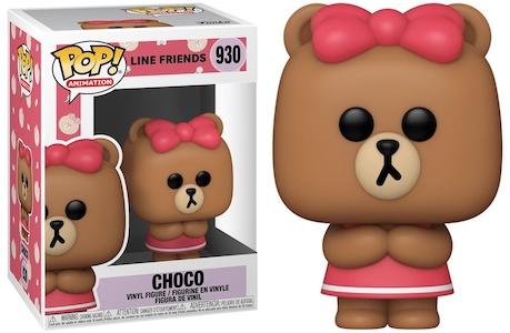 Funko Pop Line Friends Figures 4