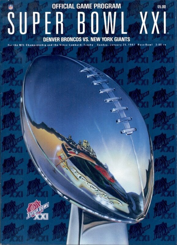 Ultimate Super Bowl Programs Collecting Guide 23
