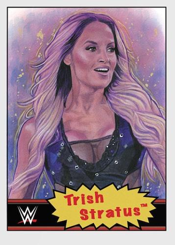Topps Living Set WWE Wrestling Cards Checklist 3