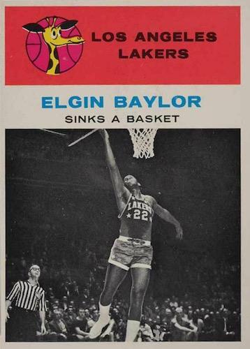 Elgin Baylor Rookie Card and Top Vintage Card Guide 2