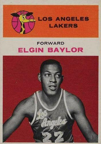 Elgin Baylor Rookie Card and Top Vintage Card Guide 1