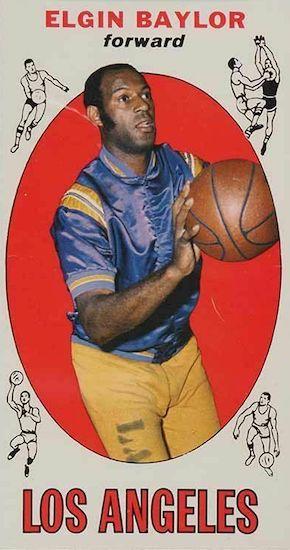Elgin Baylor Rookie Card and Top Vintage Card Guide 4