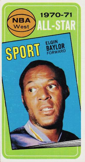 Elgin Baylor Rookie Card and Top Vintage Card Guide 6