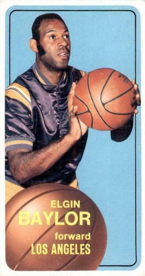 Elgin Baylor Rookie Card and Top Vintage Card Guide 5