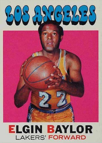 Elgin Baylor Rookie Card and Top Vintage Card Guide 7