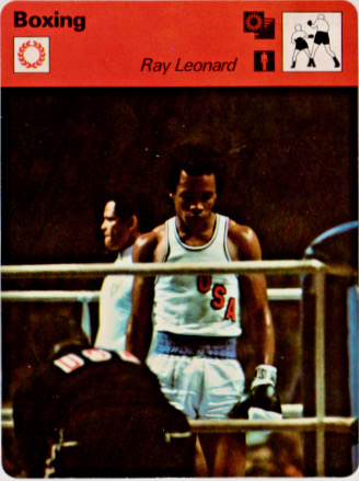 Sugar Ray Leonard Boxing Cards and Autographed Memorabilia Guide 1
