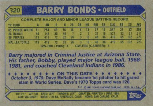 1987 Topps Baseball Cards 4