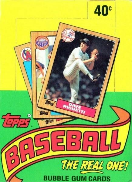 1987 Topps Baseball Cards 5
