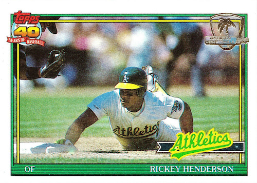 Top 10 Rickey Henderson Baseball Cards 4