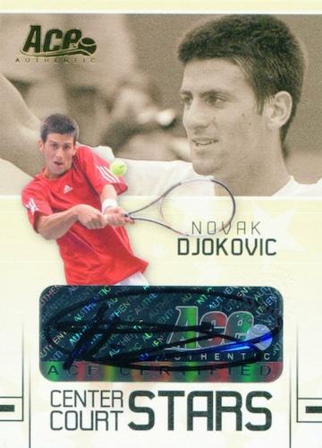 Top Novak Djokovic Tennis Cards 1