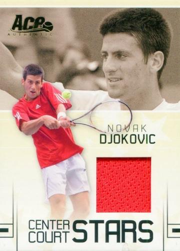Top Novak Djokovic Tennis Cards 2