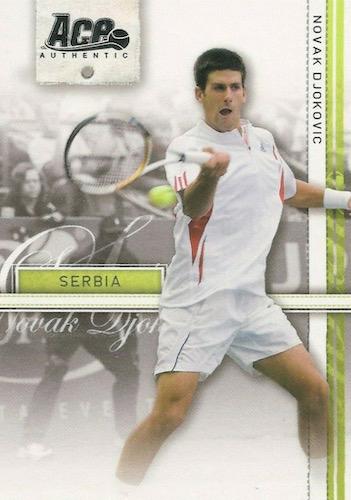 Top Novak Djokovic Tennis Cards 3