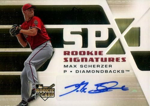 Top Max Scherzer Cards to Collect 9