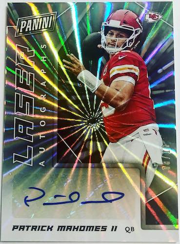 2019-20 Panini Laser Autographs Multi-Sport Panini Rewards Cards - Checklist Added 3