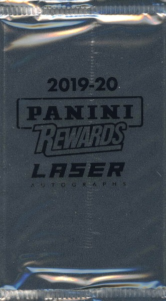 2019-20 Panini Laser Autographs Multi-Sport Panini Rewards Cards - Checklist Added 4