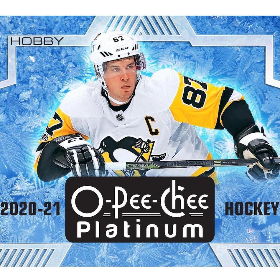 2020-21 O-Pee-Chee Platinum Hockey Checklist, Set Info, Boxes, Odds