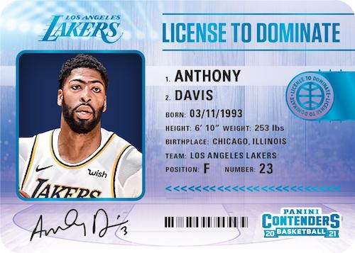 2020-21 Panini Contenders Basketball Cards - Checklist Added 5