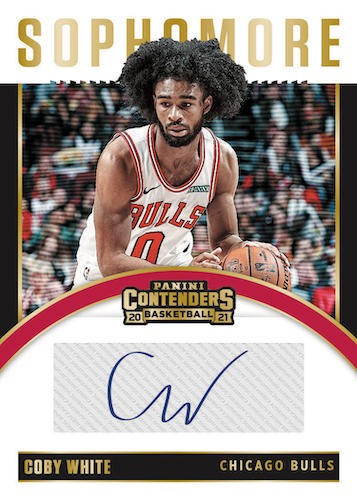 2020-21 Panini Contenders Basketball Cards - Checklist Added 8