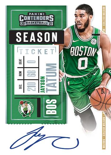 2020-21 Panini Contenders Basketball Cards - Checklist Added 7