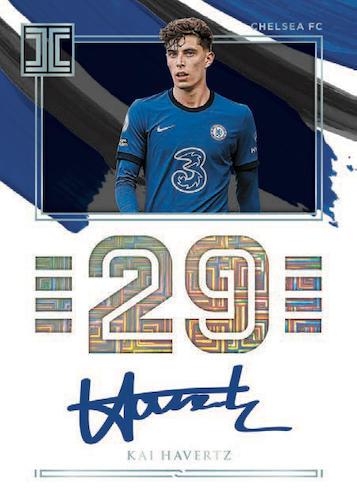 2020-21 Panini Impeccable Premier League Soccer Cards 7