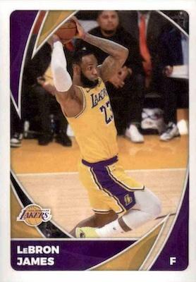2020-21 Panini NBA Sticker & Card Collection Basketball Cards - Checklist 3