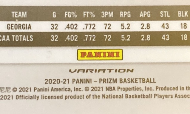 2020-21 Panini Prizm Basketball Variations Gallery and Checklist 1