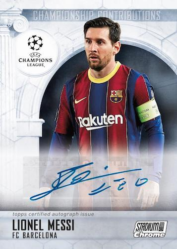 2020-21 Topps Stadium Club Chrome UEFA Champions League Soccer Cards 5
