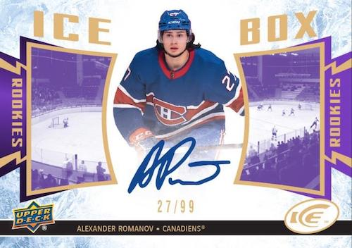 2020-21 Upper Deck Ice Hockey Cards 5