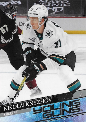 2020-21 Upper Deck Young Guns Gallery, Checklist Breakdown and Hot List 94