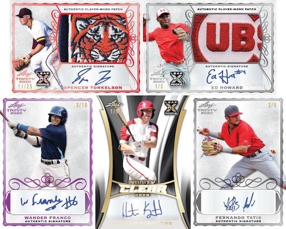 2020 Leaf Trinity Baseball Cards 3