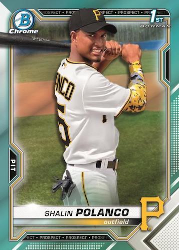 2021 Bowman Chrome Baseball Cards 3