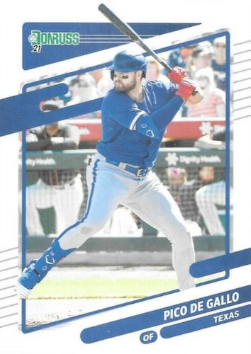 2021 Donruss Baseball Variations Gallery and Checklist 48