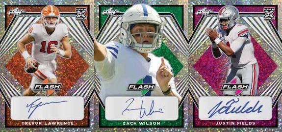 2021 Leaf Flash Football Cards 3