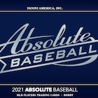 2021 Panini Absolute Baseball Cards