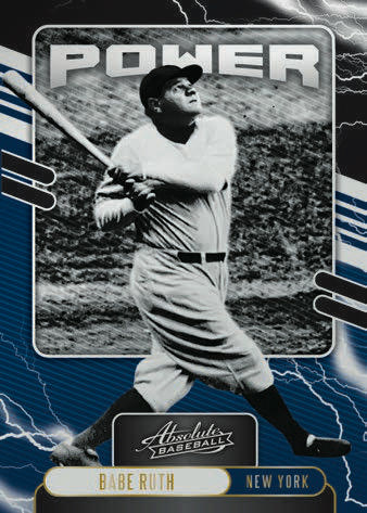 2021 Panini Absolute Baseball Cards - Checklist Added 5