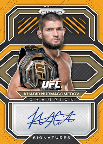 2021 Panini Prizm UFC MMA Cards 8