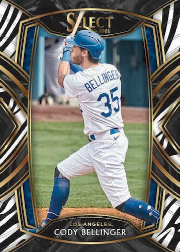 2021 Panini Select Baseball Cards 5