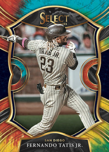 2021 Panini Select Baseball Cards - Early Checklist Added 3