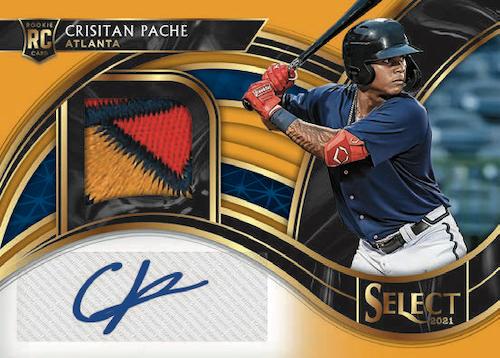 2021 Panini Select Baseball Cards 8