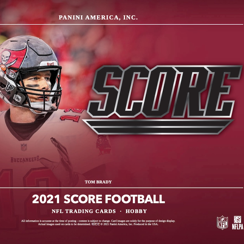 2021 Score Football Cards – Checklist Added thumbnail