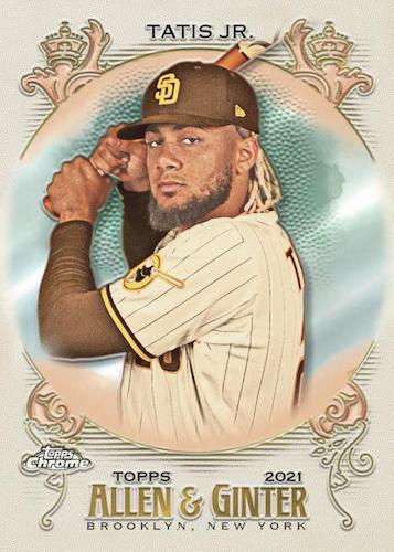 2021 Topps Allen & Ginter Chrome Baseball Cards 3