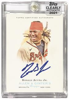 2021 Topps Clearly Authentic Baseball Cards 5