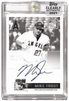 2021 Topps Clearly Authentic Baseball Cards 6