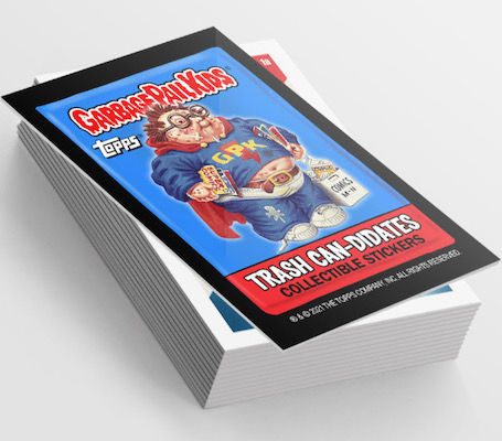 2021 Topps Garbage Pail Kids Collectors Club GPK Stickers - Set 1 7
