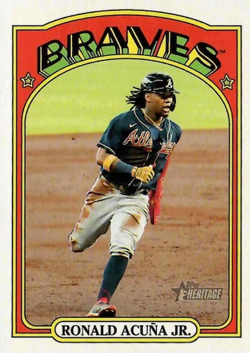 2021 Topps Heritage Baseball Variations Gallery and Checklist 24