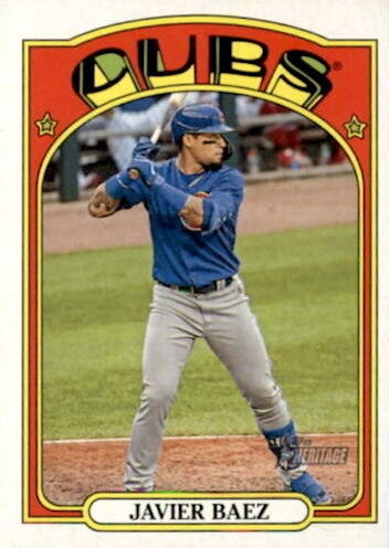 2021 Topps Heritage Baseball Variations Gallery and Checklist 9