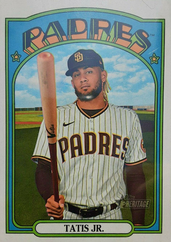 2021 Topps Heritage Baseball Variations Gallery and Checklist 28