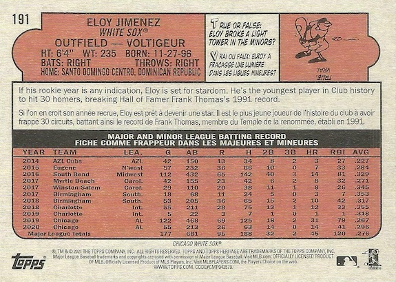 2021 Topps Heritage Baseball Variations Gallery and Checklist 52