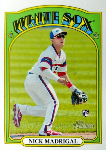 2021 Topps Heritage Baseball Variations Gallery and Checklist 45