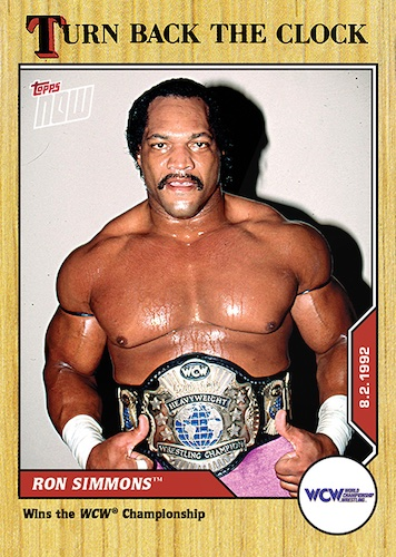 2021 Topps Now WWE Wrestling Cards - Turn Back the Clock 2